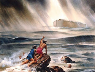 Matusalém, Noé e o Dilúvio
