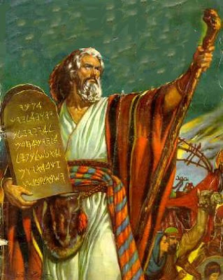 Os Dez Mandamentos – de Adão até Moisés