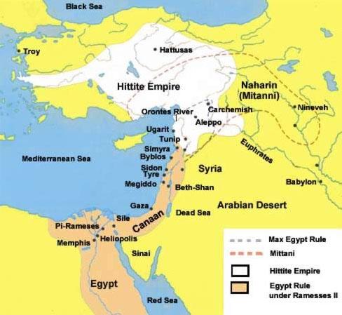 Os Hititas e o Pentateuco