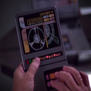Star Trek tablet