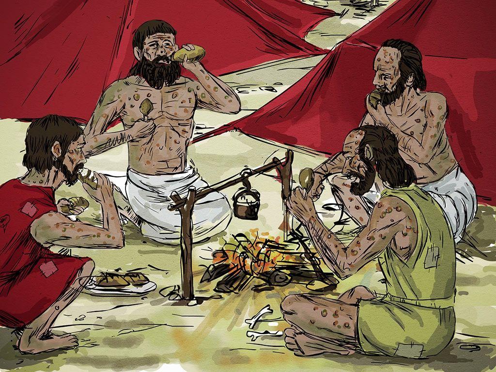 Quatro Leprosos E A Profecia De Eliseu Ii Reis 7