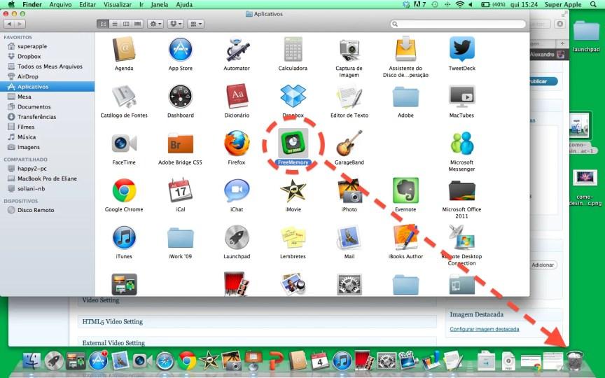 Como desinstalar programas no mac 2