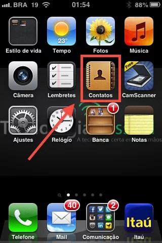 Como organizar a agenda de Contatos do iPhone