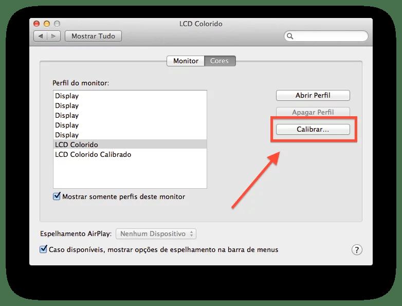 Como calibrar o monitor do Mac