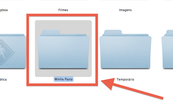 Como renomear arquivos e pastas Mac