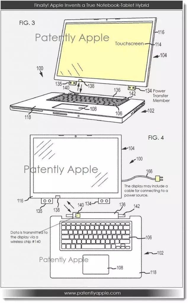 mac e ipad patente