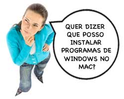 Como instalar programas Windows no Mac