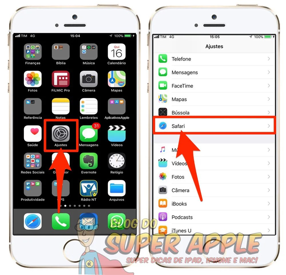 limpar-historico-cookies-e-dados-do-safari-iphone-e-ipad