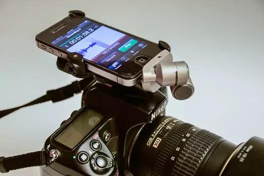 Filmagem com o iPhone. 4jpg