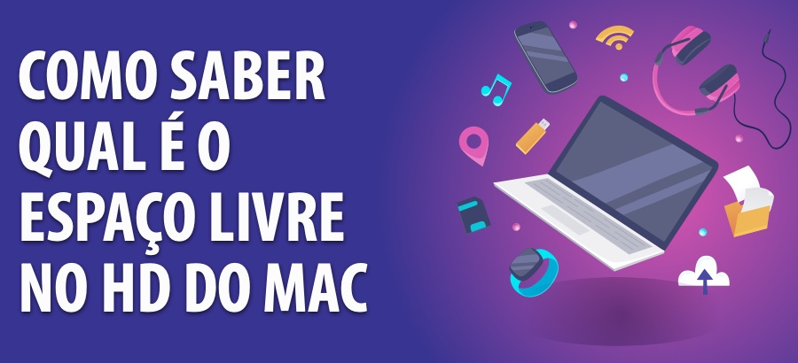 Como Saber Qual o Espaço Livre no HD do Mac