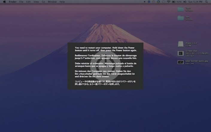 problemas com o mac-kernel-panic