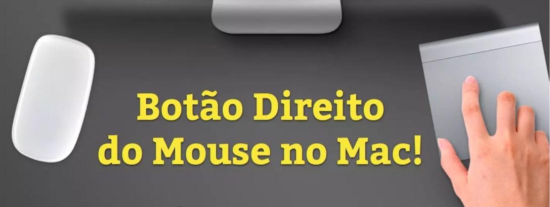 Como Clicar Com o Botão Direito do Mouse no Mac