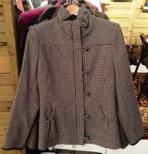 This high style Dubarry of Ireland coat goes from day to evening and casual to dressy