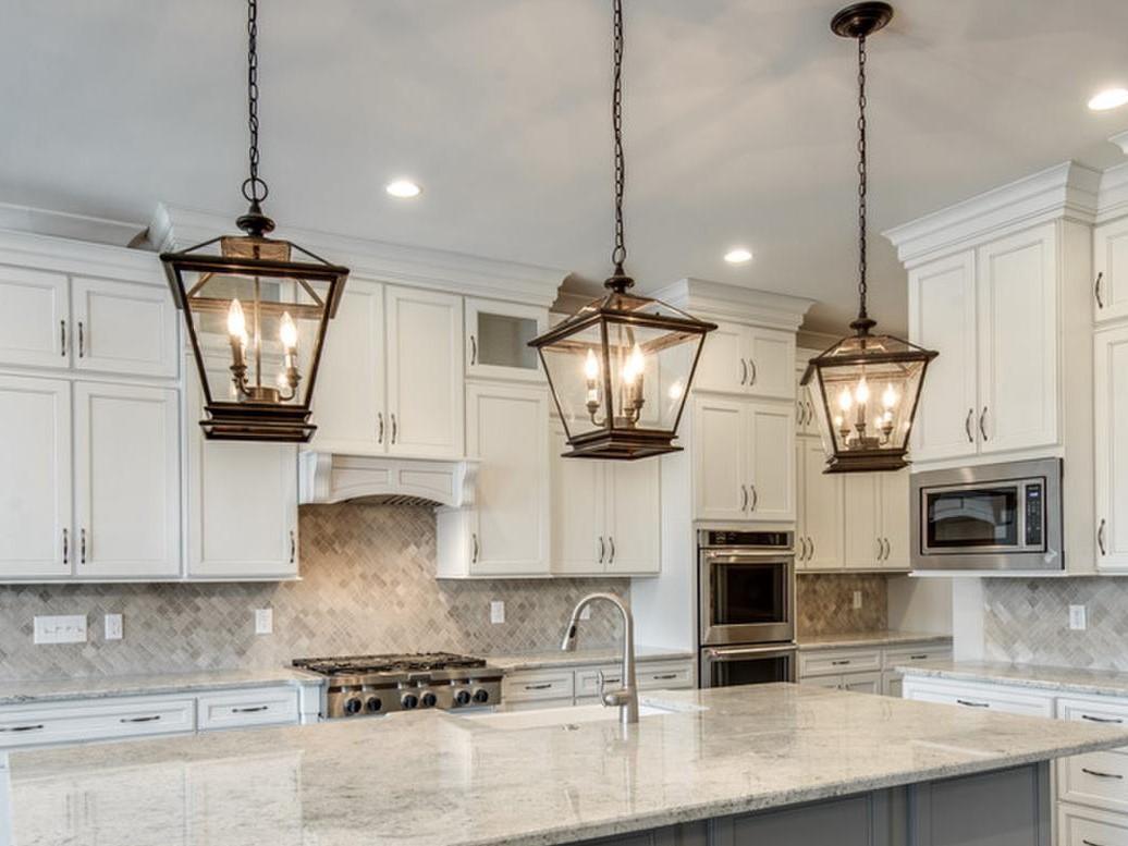 kitchen pendant lights over island carts on wheels lantern style