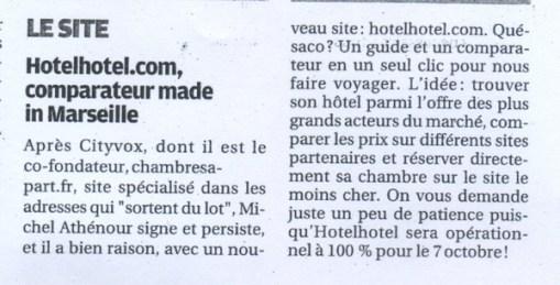 La Provence - 20/09/2010