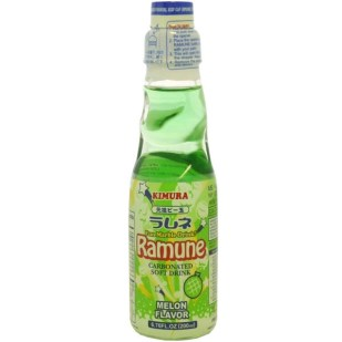 Kimura Drink Melon Ramune