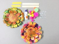 Color, color everywhere  How to make the paper plate ...