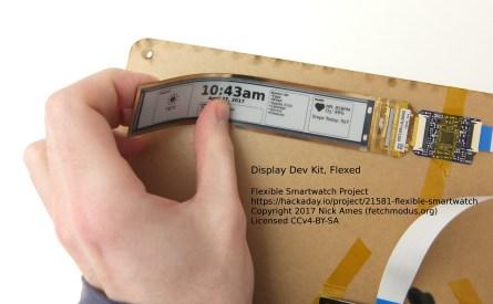 https://hackaday.io/project/21581-flexible-smartwatch