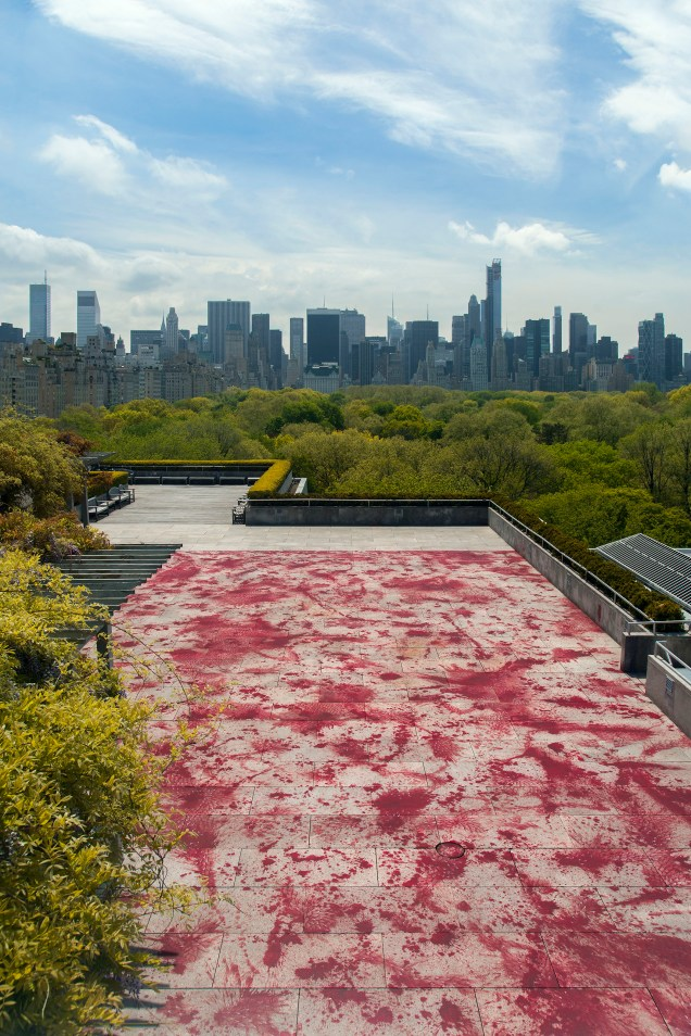 Imran Qureshi Roof Garden Commission, Iris and B. Gerald Cantor Roof Garden, Metropolitan Museum of Art, New York