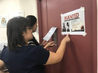 A trial run for our mass escape game