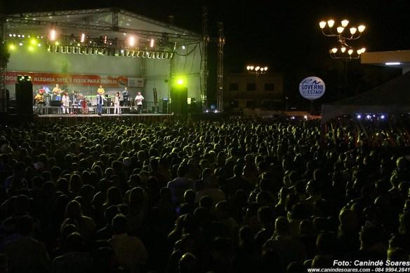 Agosto da Alegria no Largo do Teatro Alberto Maranhão