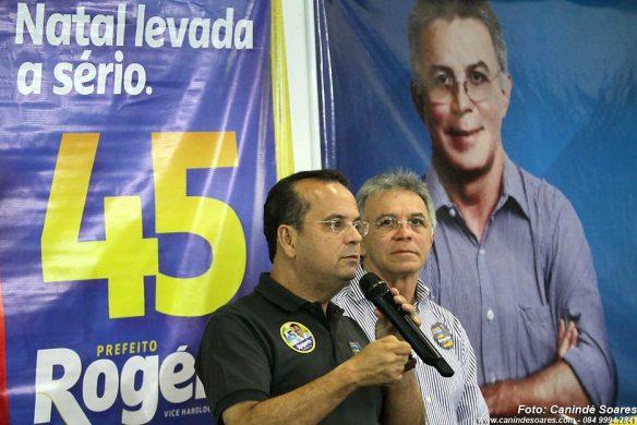 Rogério pede votos para Gilenildo Santos