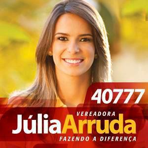 Júlia Arruda se reelege com tranquilidade