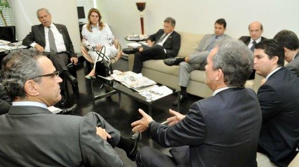 Henrique recebe apoio o PDT em Brasília