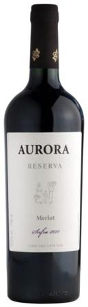 Vinho gaúcho Aurora Reserva Merlot ganhou três prêmios este ano