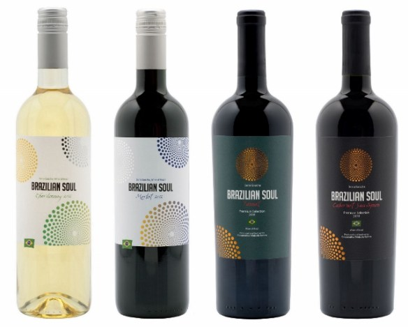 Vinhos da vinícola Aurora: Brazilian Soul Família