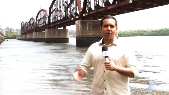 Repórter Matheus Magalhães ganhou prêmio do Ministério Público