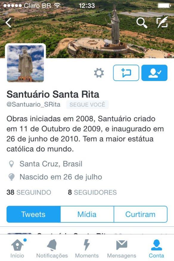 Santuário Santa Rita Santa Cruz
