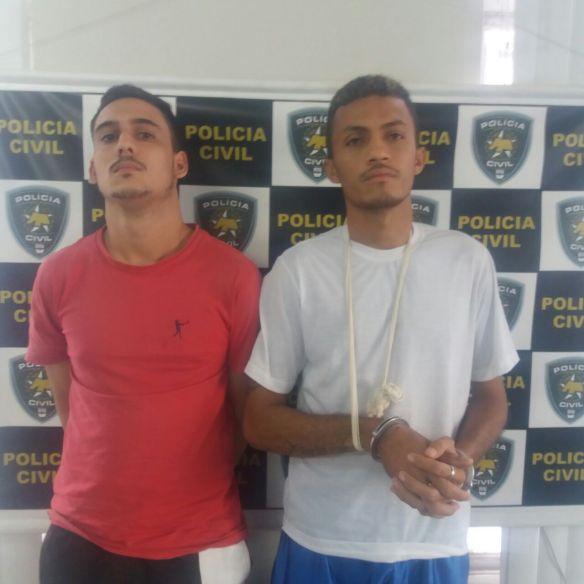 24.03 Felipe Martins dos Santos (à esquerda) e Francisco Josenilson da Silva (à direita)