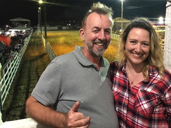 Felipe Muller, o pai, e Priscila Muller: pré-candidatura à deputada estadual no RN