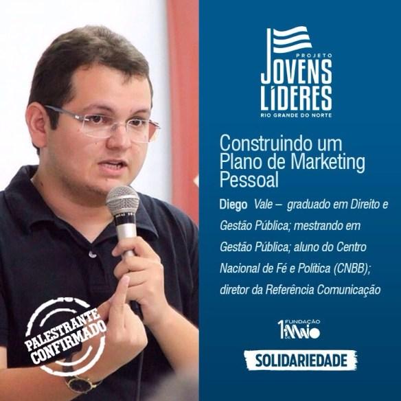 Diego é secretário de Desenvolvimento Econômico e Turismo de Caicó