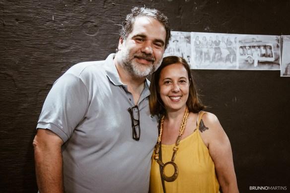 Filipe Miguez e Leusa Araújo