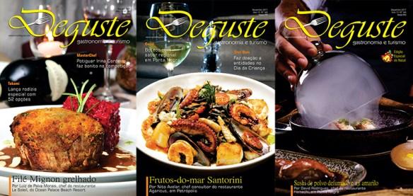Revista DEGUSTE divulga o turismo gastronômico há 12 anos no Rio Grande do Norte