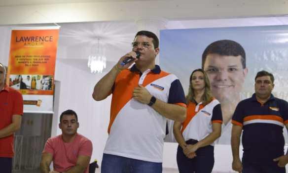 Lawrence Amorim é pré-candidato a deputado federal pelo Solidariedade