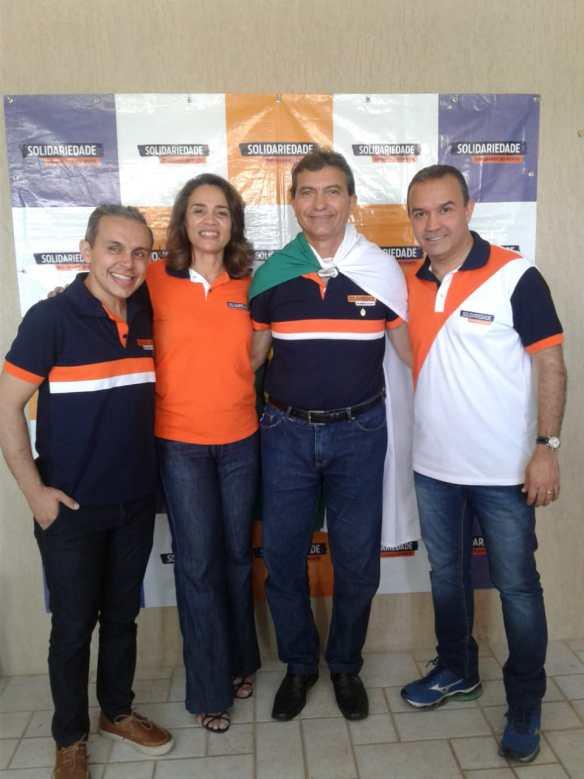Breno Queiroga, Magnólia Figueiredo, Jackson Bezerra e Kelps Lima