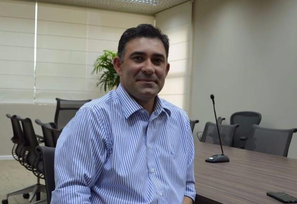 Presidente do Sinduscon Mossóró, Engenheiro Sérgio Freire