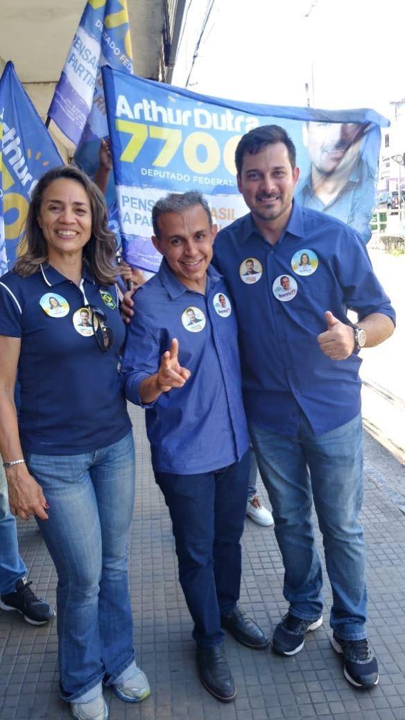 Magnólia é candidata ao Senado, Brenno ao Governo e Arthur a deputado federal