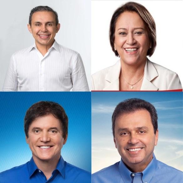 Brenno, Fátima, Robinson e Carlos Eduardo são os mais citados nas pesquisas