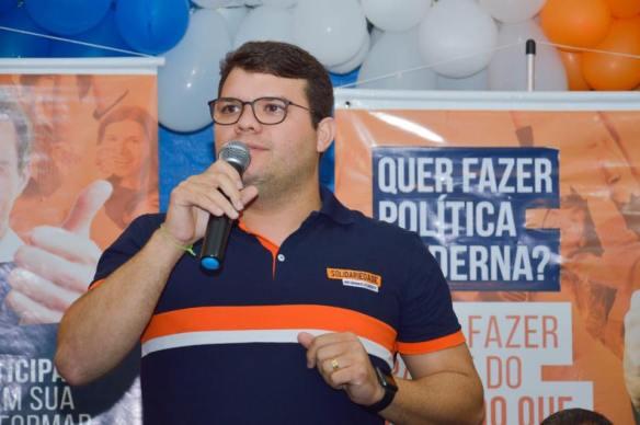 Lawrence Amorim foi o mais votado no Solidariedade.
