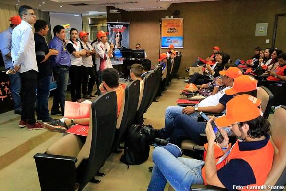 Uma das aulas da Escola de Jovens Líderes do RN (Foto: Canindé Soares)