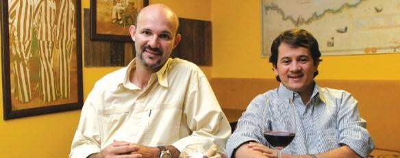 Jornalistas Benício Siqueira e Washington Rodrigues fundaram a Revista DEGUSTE