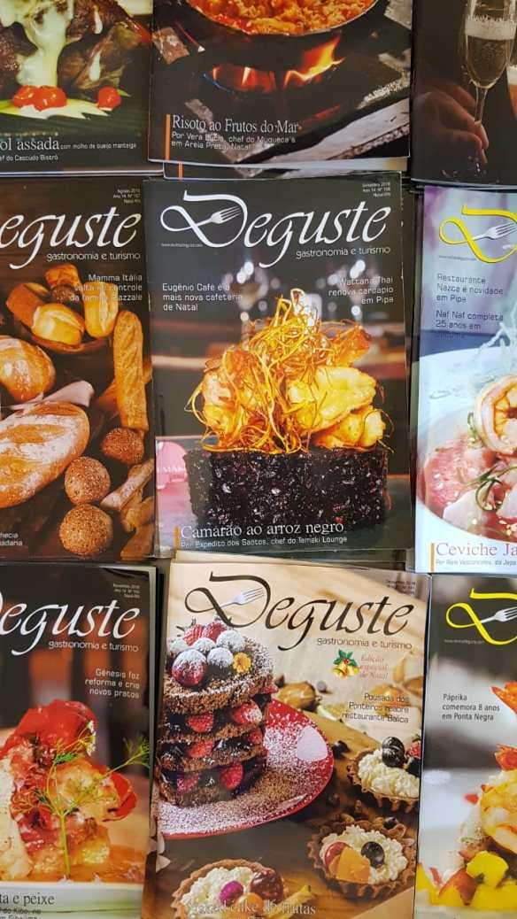 Revista DEGUSTE vai completar 14 anos em 2019