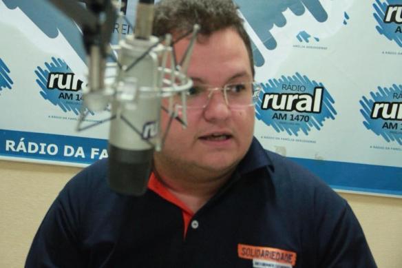 Diego Vale é presidente do Solidariedade em Caicó