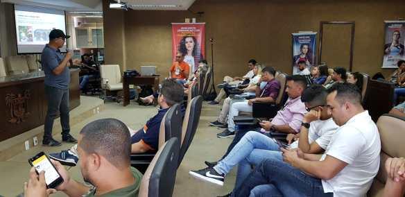 Canindé Soares deu palestra para os pré-candidatos do Solidariedade RN