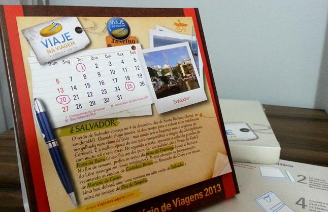 Calendário de Feriados (e de viagens) para 2013!