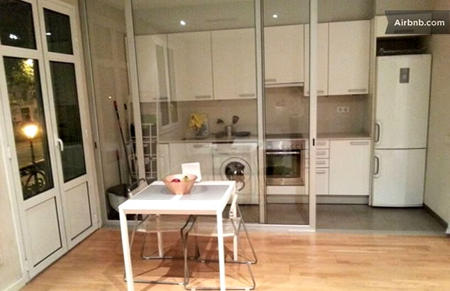 Conheça o apartamento que alugamos em Barcelona, via Airbnb